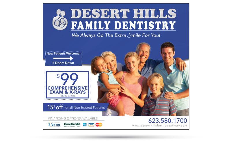 Desert Hills Dental Ad